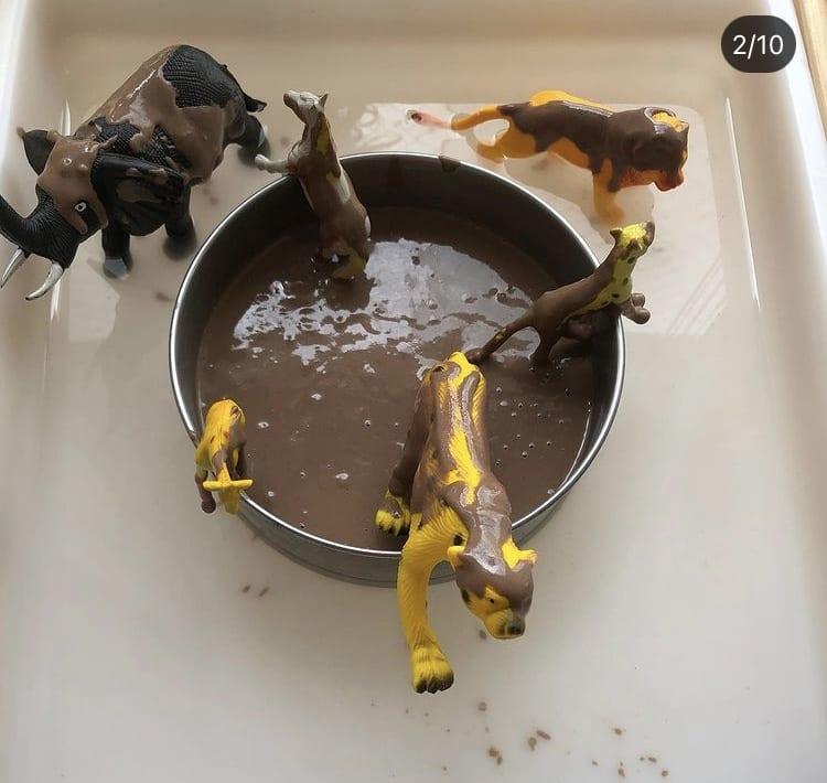 Como fazer lama comestível caseira?